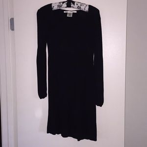Max Studio Black Knit Dress
